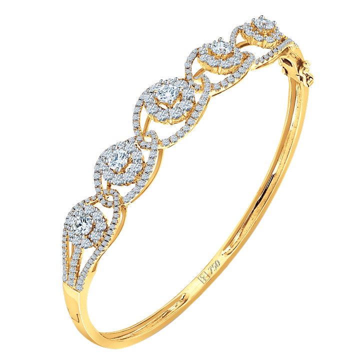 Ming Seng diamond bangle