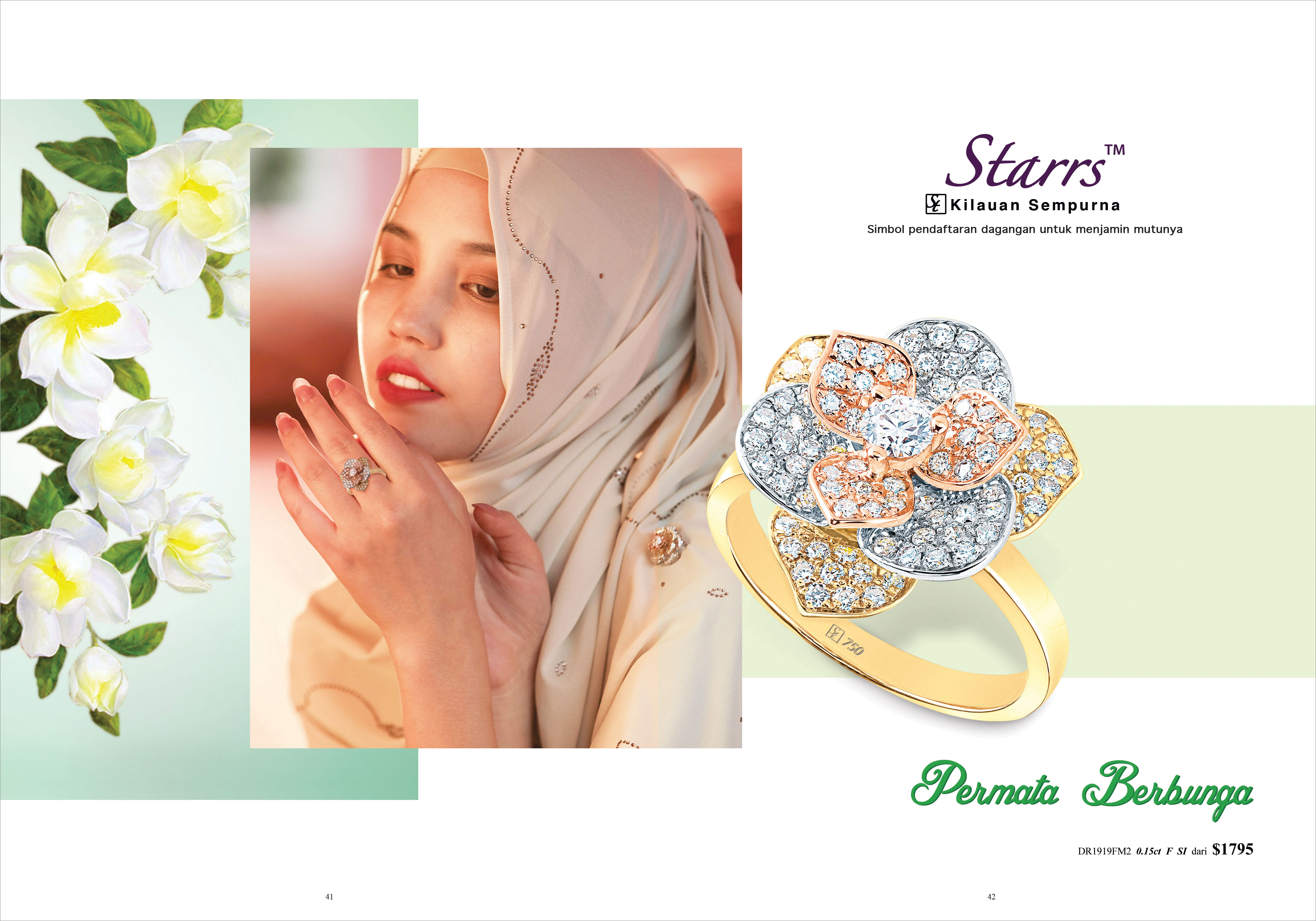 Ming Seng starrs diamond ring